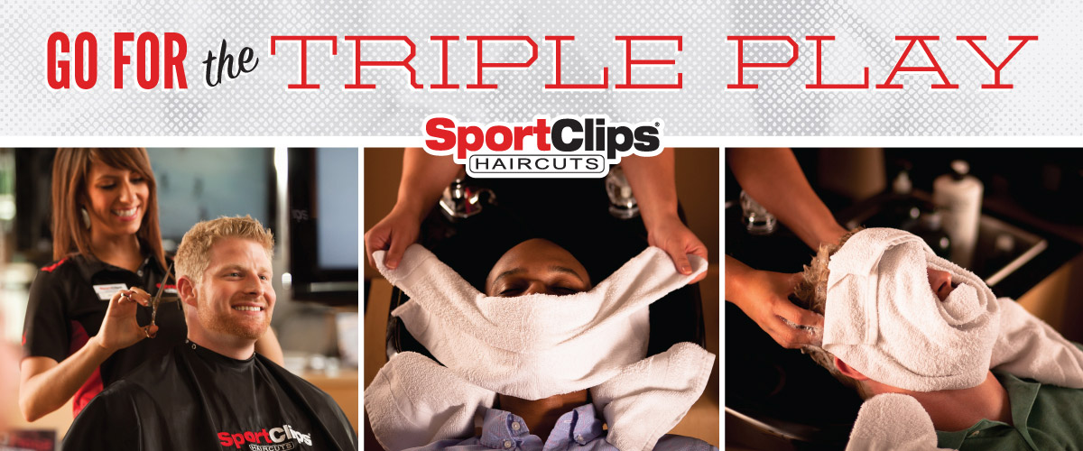 The Sport Clips Haircuts of Brownsville  Triple Play