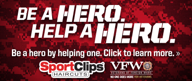 Sport Clips Haircuts of Brownsville ​ Help a Hero Campaign